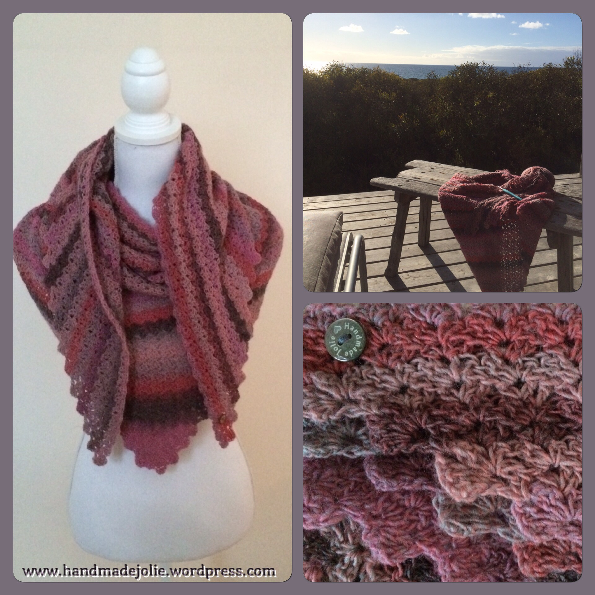 Dromerige Sjaal Nr 4 Op Een Droomplek Handmadejolie