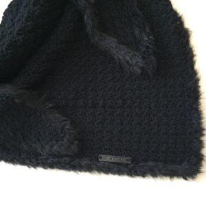 bontrandje haakpatroon sjaal